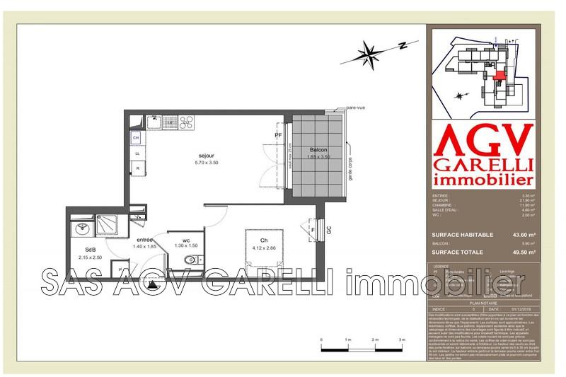 Photo n°1 - Vente appartement Toulon 83100 - 171 482 €