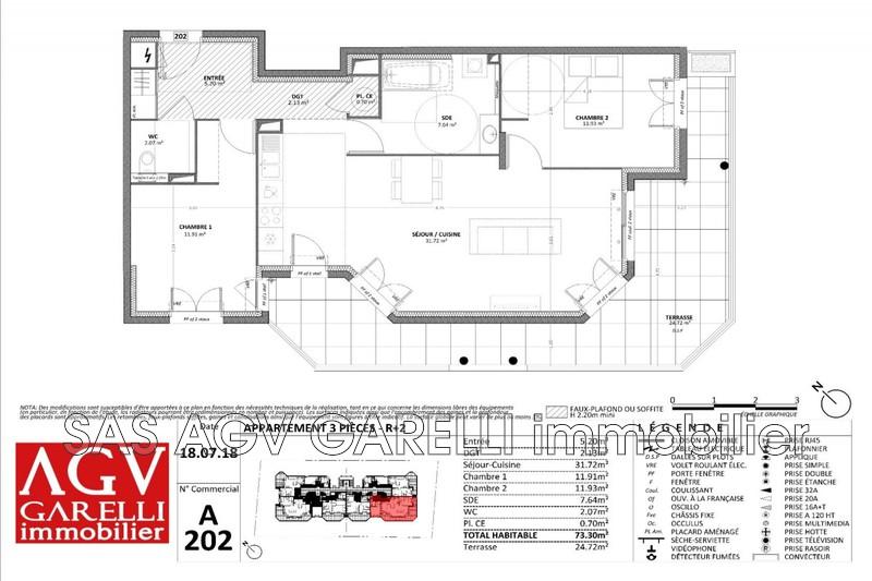 Photo n°1 - Vente appartement Cavalaire-sur-Mer 83240 - 386 000 €