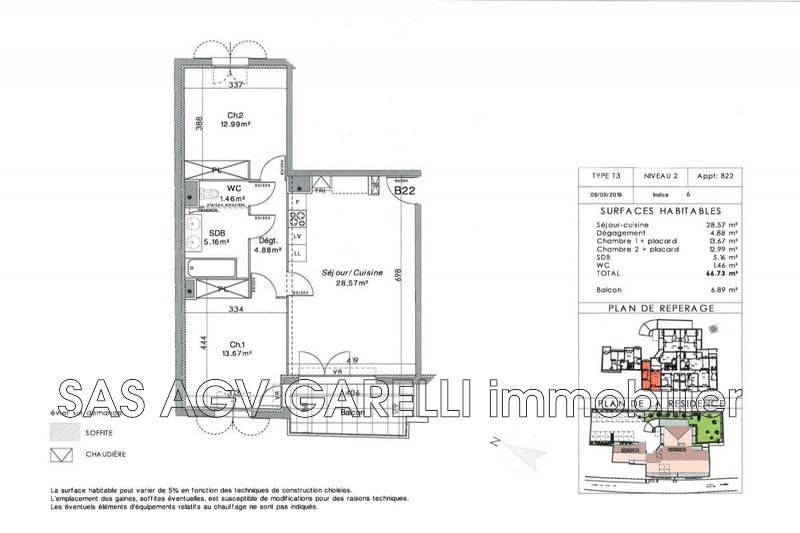 Photo n°1 - Vente appartement La Crau 83260 - 270 000 €