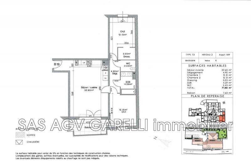 Photo n°3 - Vente appartement La Crau 83260 - 275 000 €