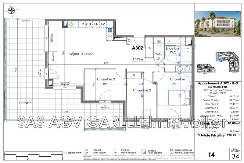 Photo n°1 - Vente appartement Hyères 83400 - 488 000 €