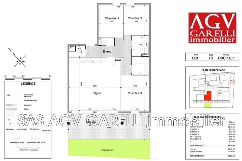 Photo n°1 - Vente appartement Carqueiranne 83320 - 442 000 €