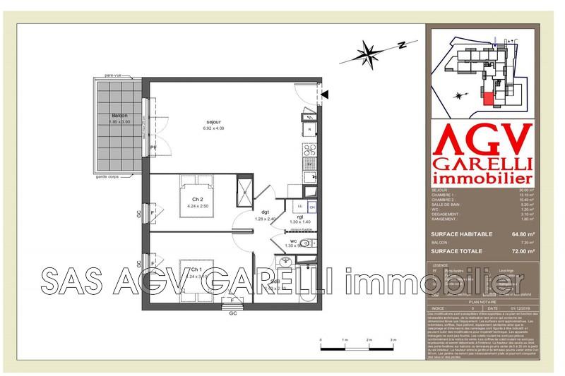 Photo n°1 - Vente appartement Toulon 83100 - 261 618 €