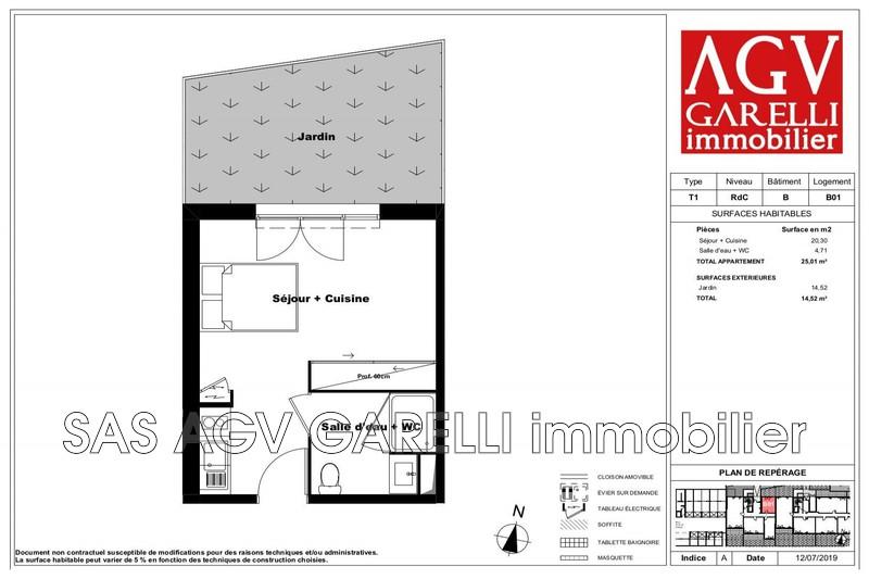Photo n°1 - Vente appartement Marseille 13012 - 114 292 €