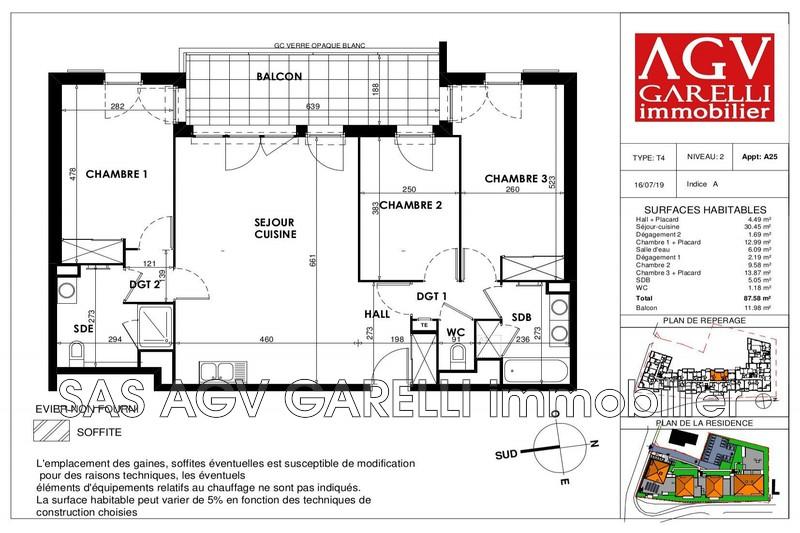 Photo n°1 - Vente appartement Draguignan 83300 - 251 881 €