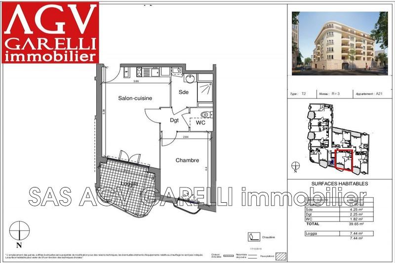 Photo n°1 - Vente appartement Toulon 83000 - 188 000 €