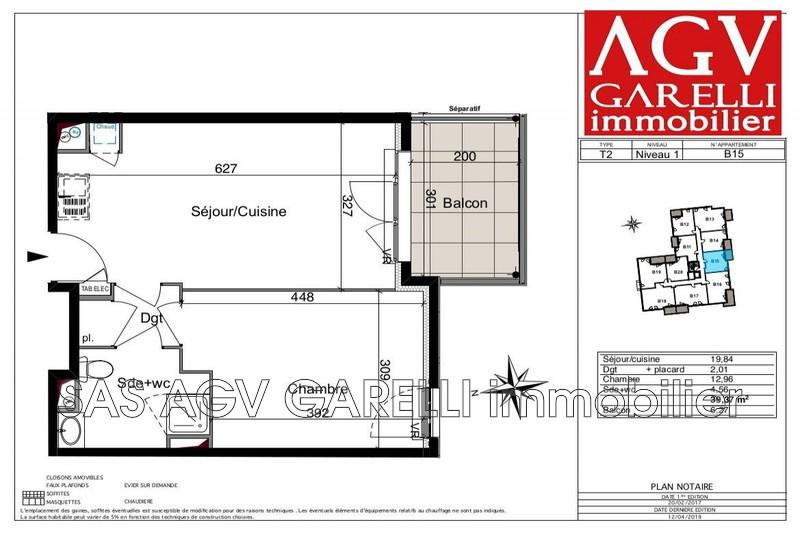 Photo n°1 - Vente appartement Six-Fours-les-Plages 83140 - 220 000 €
