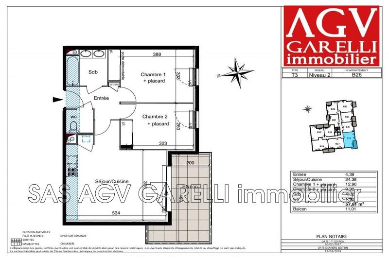 Photo n°1 - Vente appartement Six-Fours-les-Plages 83140 - 310 000 €