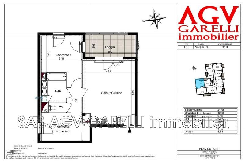 Photo n°2 - Vente appartement Six-Fours-les-Plages 83140 - 295 000 €