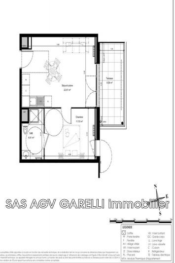 Photo n°1 - Vente appartement Solliès-Pont 83210 - 163 000 €