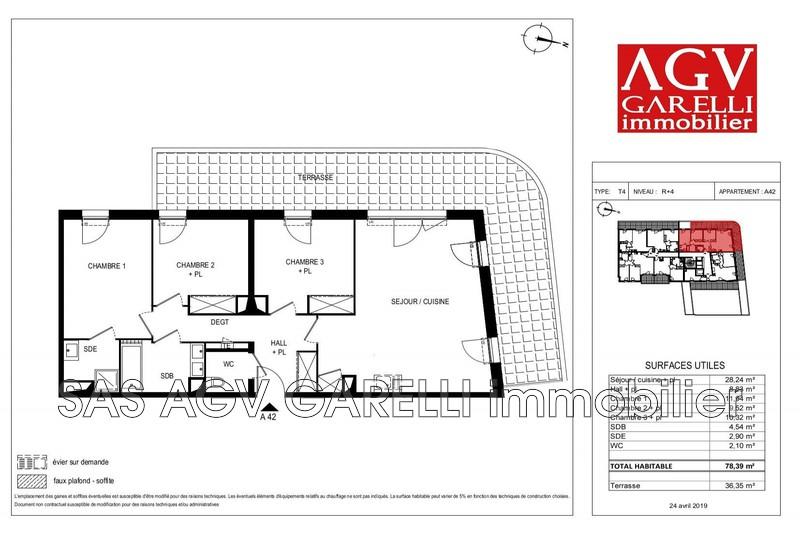 Photo n°1 - Vente appartement Toulon 83000 - 347 000 €