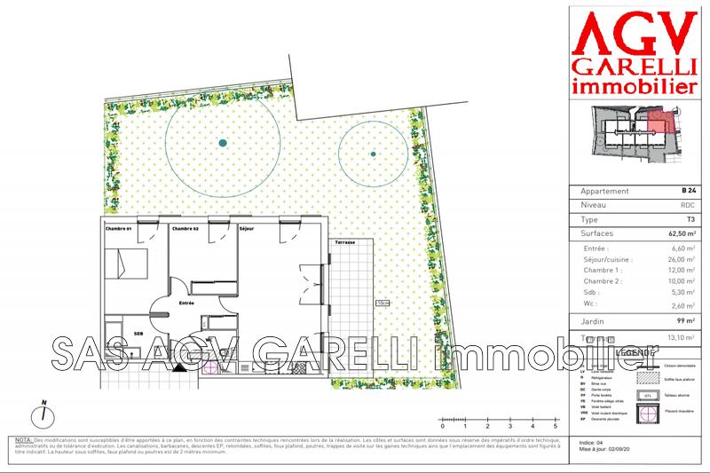 Photo n°1 - Vente appartement Toulon 83200 - 285 000 €