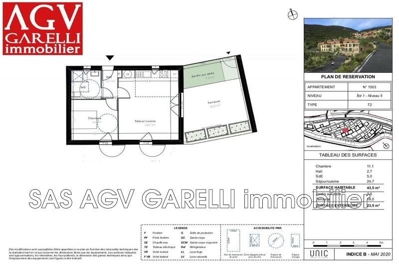 Photo n°2 - Vente appartement Cavalaire-sur-Mer 83240 - 218 000 €