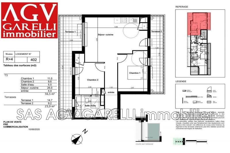 Photo n°1 - Vente appartement La Garde 83130 - 295 000 €