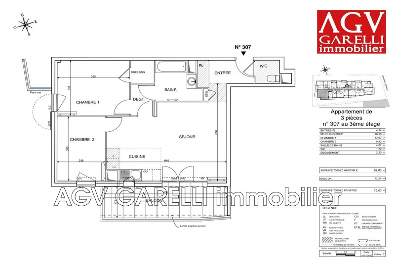 Photo n°1 - Vente appartement Toulon 83200 - 245 529 €