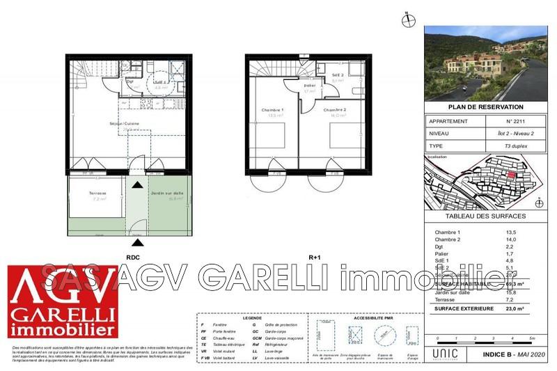 Photo n°2 - Vente Appartement duplex Cavalaire-sur-Mer 83240 - 349 000 €