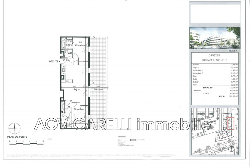 Photo n°7 - Vente appartement La Seyne-sur-Mer 83500 - 380 000 €