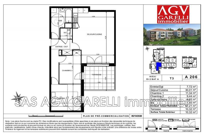 Photo n°2 - Vente appartement Toulon 83100 - 241 500 €