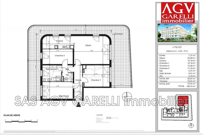 Photo n°2 - Vente appartement La Seyne-sur-Mer 83500 - 390 000 €