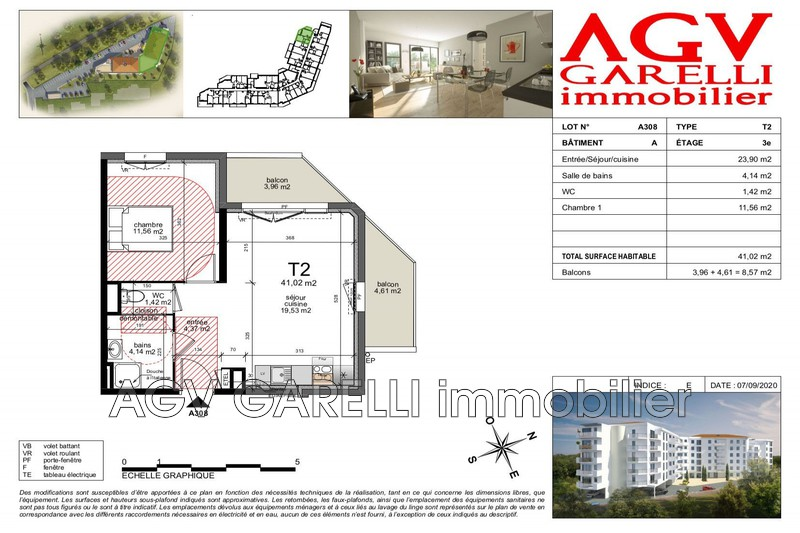 Photo n°1 - Vente appartement Toulon 83000 - 129 238 €