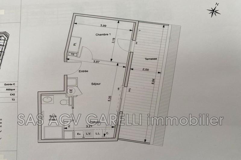 Photo n°3 - Vente appartement Hyères 83400 - 225 000 €