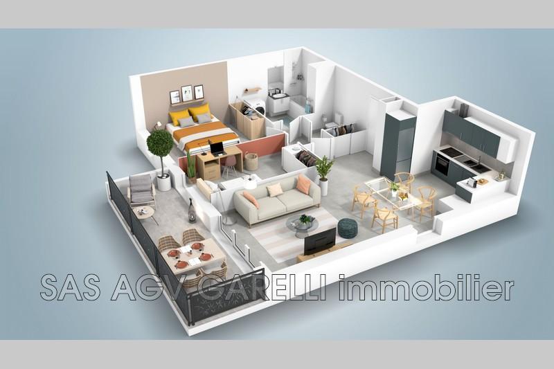 Photo n°1 - Vente appartement Toulon 83100 - 272 000 €