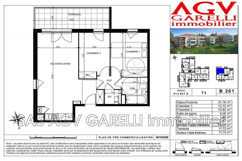 Photo n°2 - Vente appartement Toulon 83100 - 272 000 €