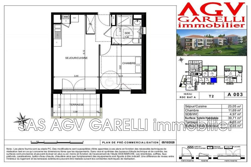 Photo n°2 - Vente appartement Toulon 83100 - 198 000 €