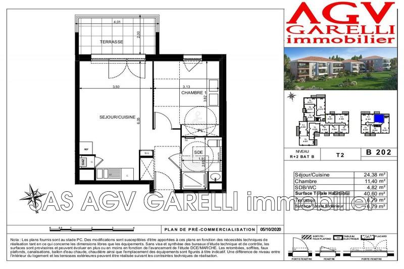 Photo n°1 - Vente appartement Toulon 83100 - 211 000 €