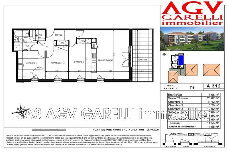 Photo n°1 - Vente appartement Toulon 83100 - 375 000 €