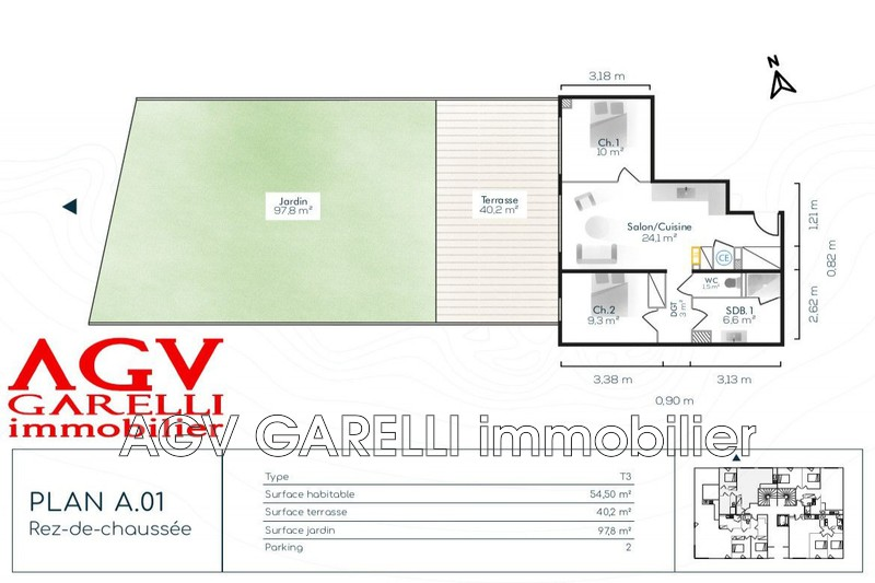Photo n°3 - Vente appartement Sanary-sur-Mer 83110 - 420 000 €