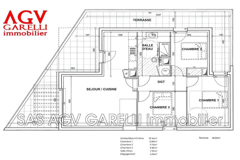 Photo n°2 - Vente appartement Le Pradet 83220 - 438 000 €