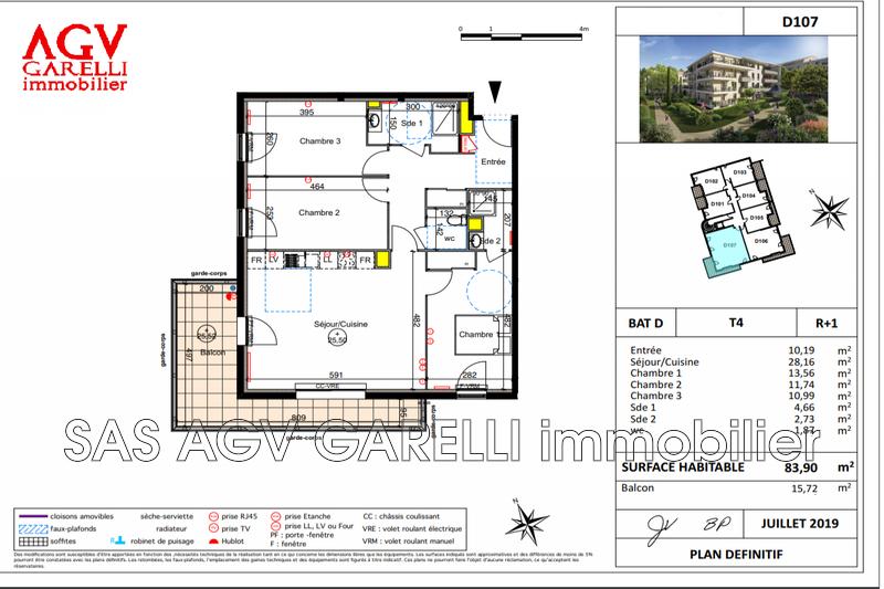 Photo n°1 - Vente appartement Six-Fours-les-Plages 83140 - 434 000 €