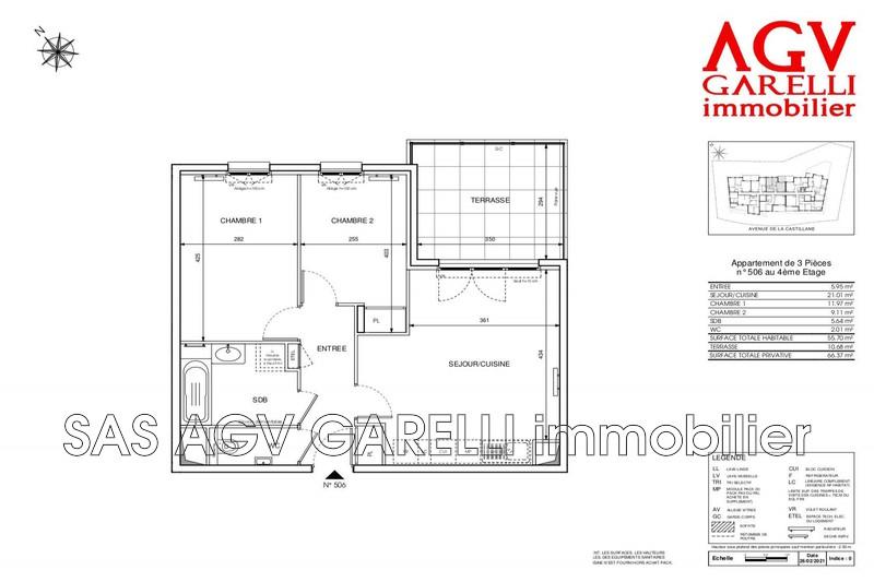 Photo n°2 - Vente appartement Cavalaire-sur-Mer 83240 - 382 000 €