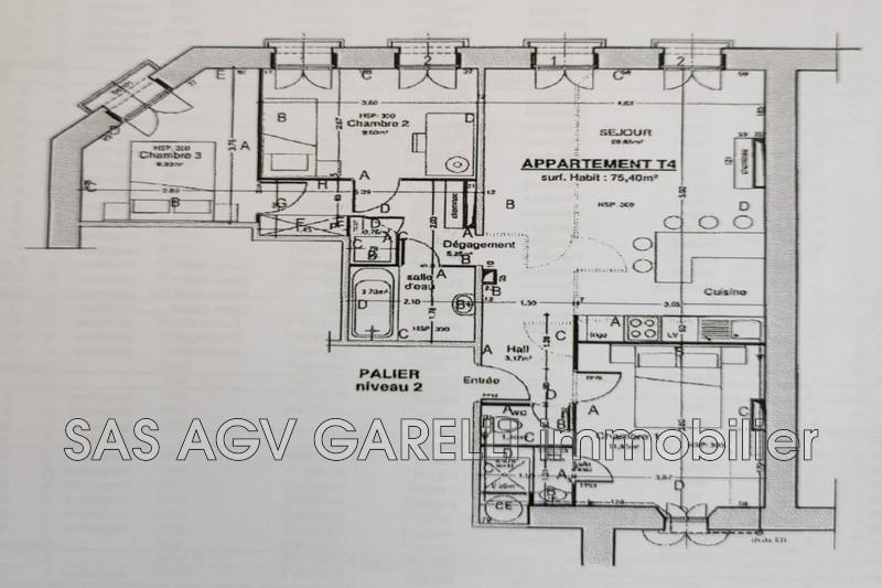 Photo n°10 - Vente appartement Hyères 83400 - 320 000 €