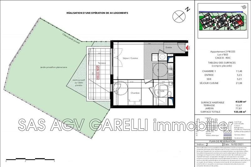 Photo n°2 - Vente appartement Le Lavandou 83980 - 302 000 €
