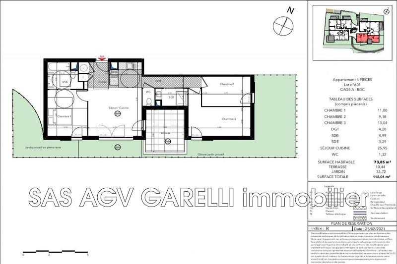Photo n°2 - Vente appartement Le Lavandou 83980 - 491 900 €