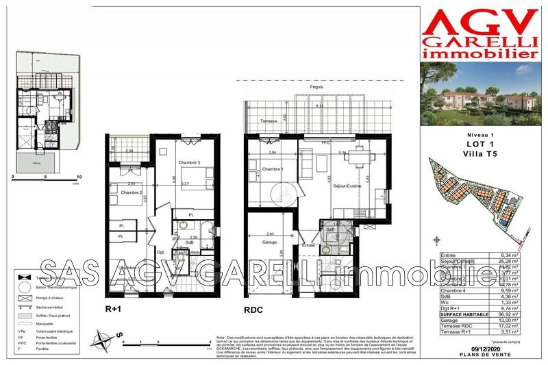 Photo n°1 - Vente maison La Farlède 83210 - 380 000 €