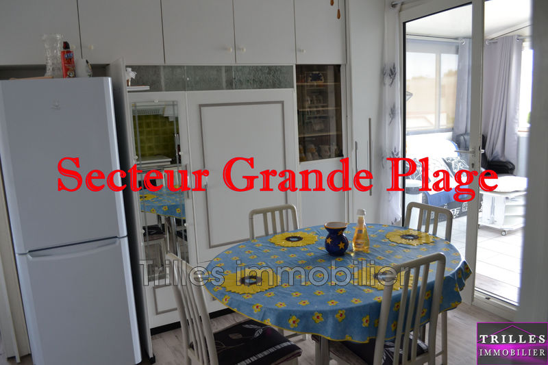 Photo Appartement Le Barcarès Grande plage,   achat appartement  2 pièces   26m²