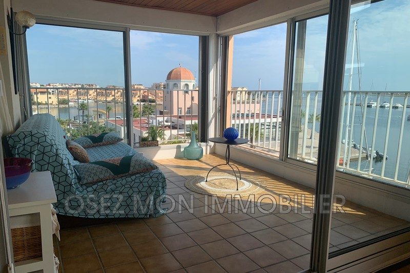 Photo Apartment Gruissan Bord de mer,   to buy apartment  4 rooms   60 m²