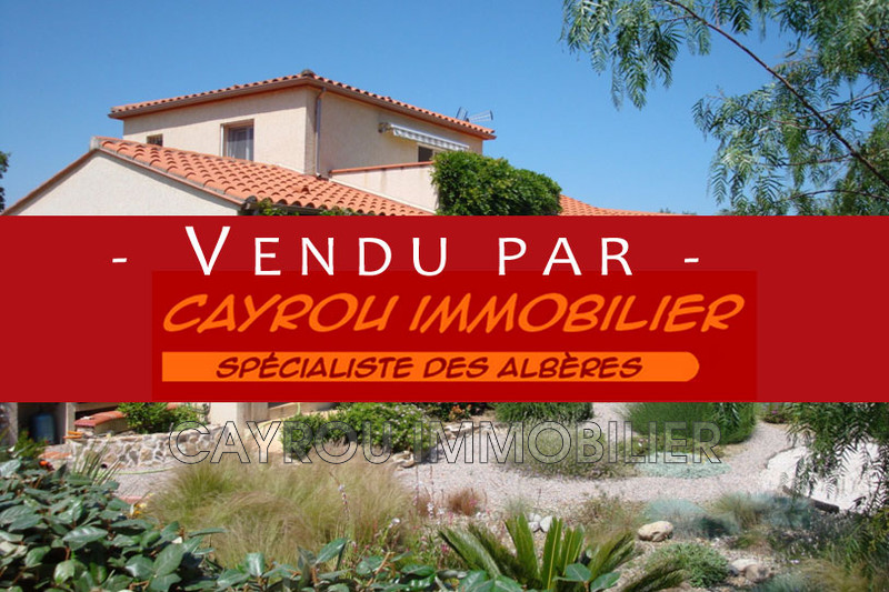 Photo Villa Villelongue-dels-Monts Calme,   achat villa  4 chambres   150 m²