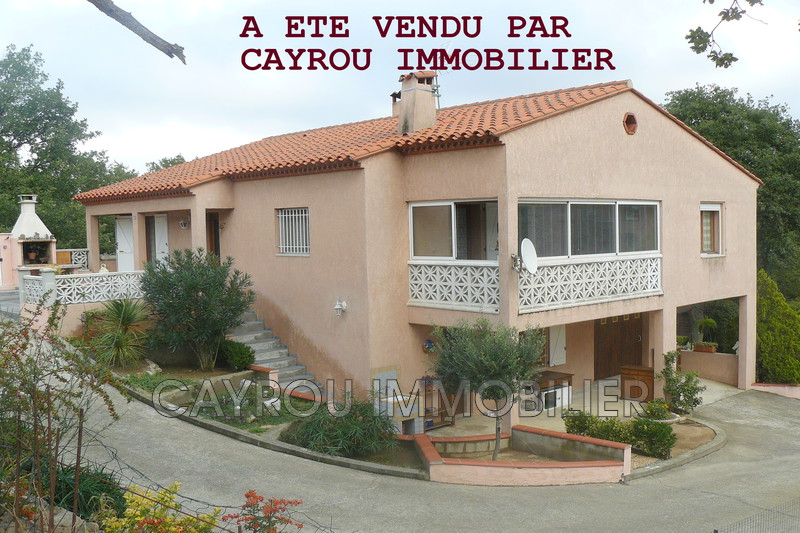 Photo Villa Villelongue-dels-Monts   achat villa  4 chambres   170 m²