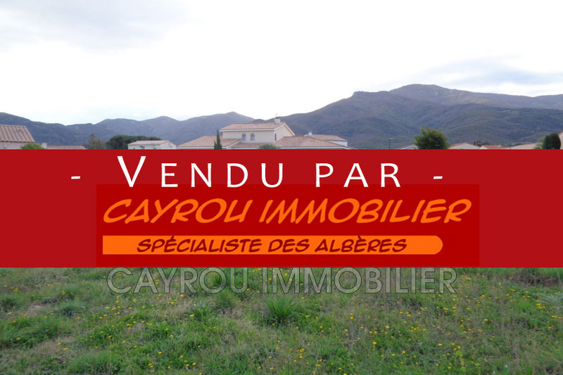 Photo Land Laroque-des-Albères Calme,   to buy land   1334 m²