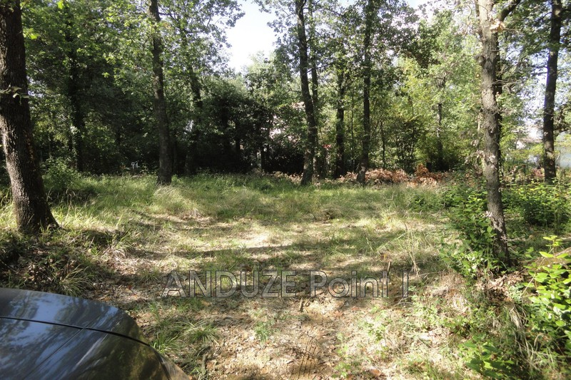 Photo Building land Cardet Anduze,   to buy building land   1400 m²
