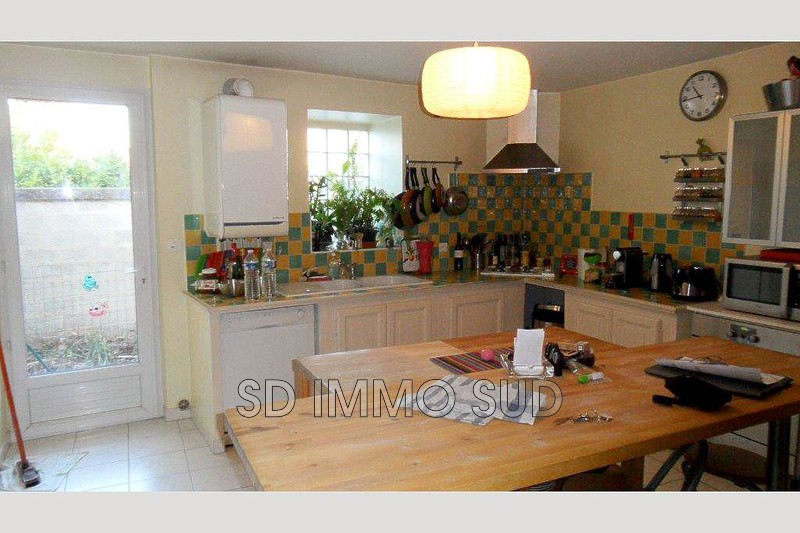 Photo n°2 - Location maison de village Le puy-sainte-réparade 13610 - 850 €