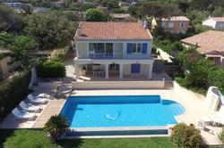 Photo Villa avec vue mer et piscine Ste maxime  Location saisonnière villa avec vue mer et piscine  8 chambres   135m²