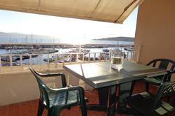Photo Studio avec vue mer Ste maxime  Location saisonnière studio avec vue mer  1 pièce   37m²