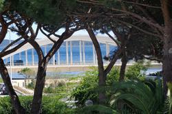 Photo Studio avec piscine proche plage Ste maxime  Location saisonnière studio avec piscine proche plage  1 pièce   35m²