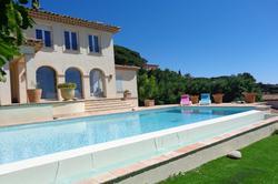 Photo Villa avec vue mer et piscine Ste maxime  Location saisonnière villa avec vue mer et piscine  8 chambres   160m²