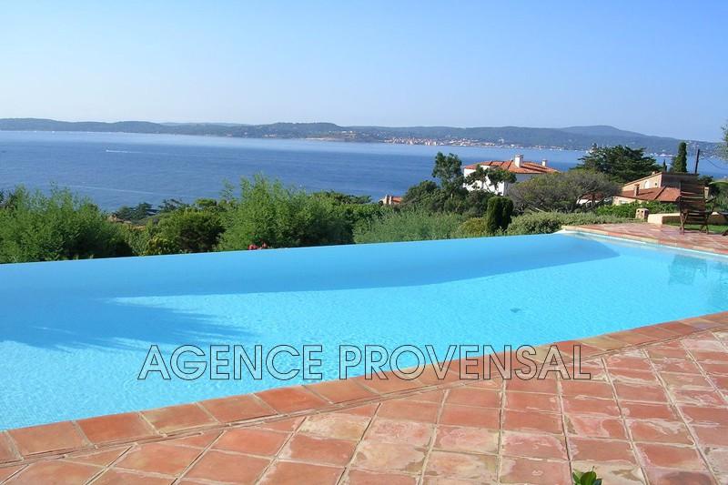 Photo Villa avec vue mer et piscine Ste maxime  Location saisonnière villa avec vue mer et piscine  6 chambres   120m²
